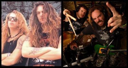 Igor e Max Cavalera na época do saudoso álbum Arise do Sepultura e agora com o Cavalera Conspiracy